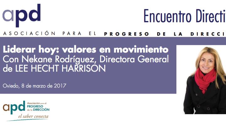 Liderar hoy: valores en movimiento Con Nekane Rodríguez