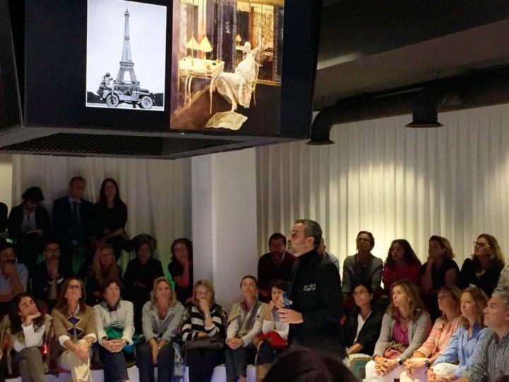 #CharlasCircus Lorenzo Castillo: La alta decoración en España