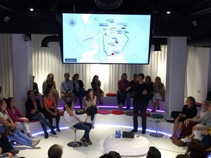 """Jesús Alcoba y Rosa Fernández: """"De Shackleton a la actualidad"""""""