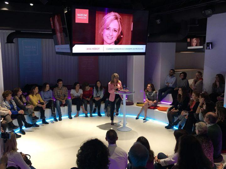 Ana Nebot: «Cuando la pasión se convierte en profesión»