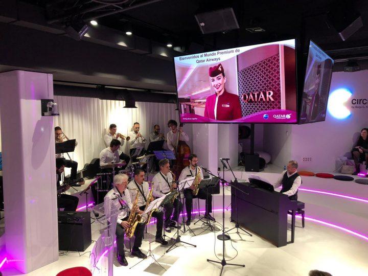 Presentación servicios business de Qatar Airways
