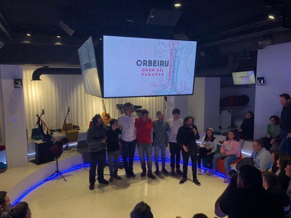Presentación disco 'Orbeiru'